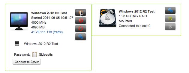 2012 Cloud Server Start