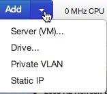 Add Cloud Server Dialog